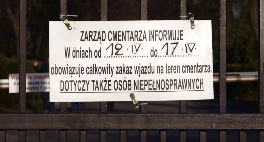 Cmentarz Bródnowski , Zarząd Cmentarza informuje - zdjęcie, fotografia
